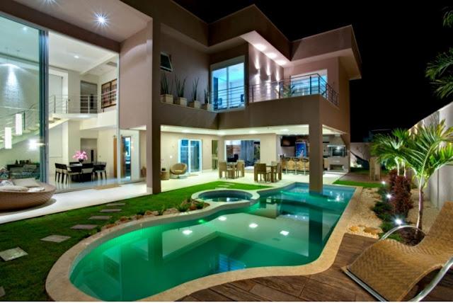 Fachadas Bonitas Y Modernas Casa Alphaville Fachadas De Casas Y