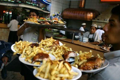 """Circuito Gastronomico : Noticia local """"restaurantes saludables de san borja"""