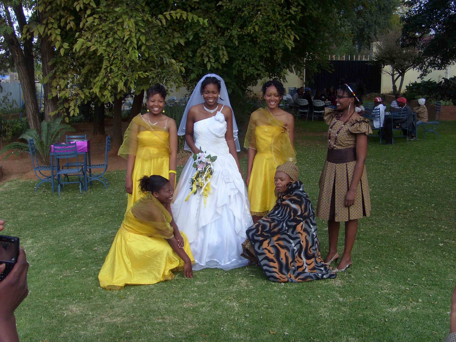 Sotho Traditional Wedding Dresses