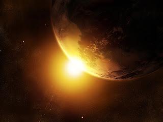 birth of sun