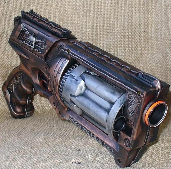 Best Nerf Gun Toy Ever: Elite Nerf Cam ECS-12 - YouTube  |Nerf Guns Awesome Looking