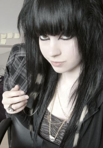 Fantastic Long Black Emo Hair 330X473 Hairstyles For Men Maxibearus