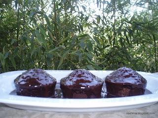 Cupcakes με ρούμι και σταφίδες