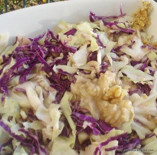 Σαλάτα με αχλάδι - Salad with pears