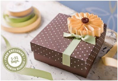 Earn FREE Ribbon in September!