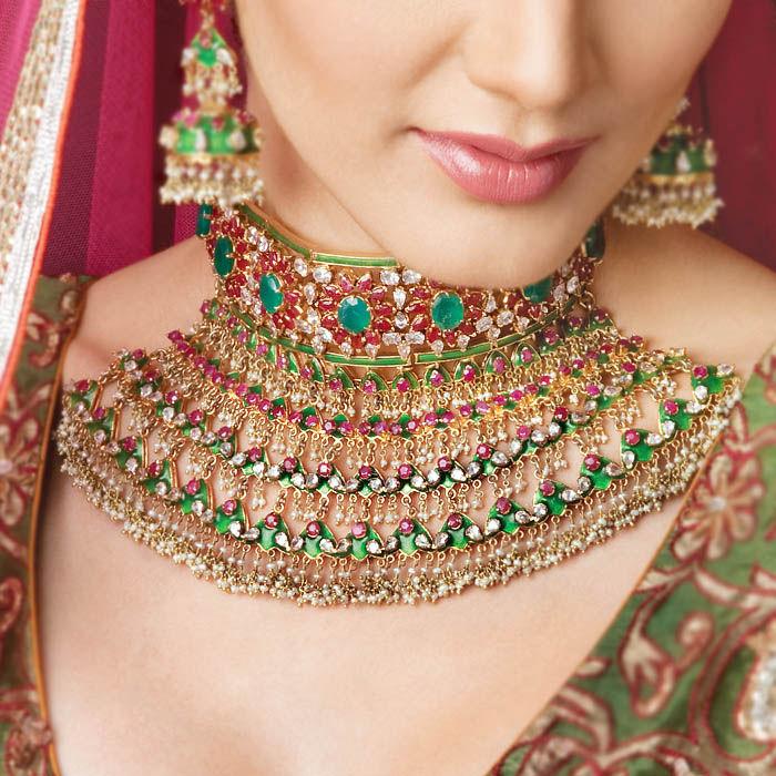 Indian Bridal Jewellery: FLORALINA: Indian Bridal Jewelry