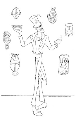 dr facilier coloring pages | PRINCESS COLORING PAGES