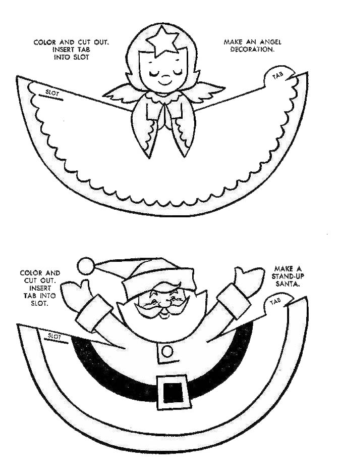 christmas coloring pages and games - photo#21