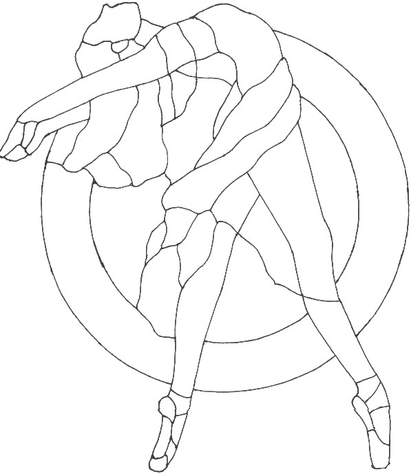 BARBIE COLORING PAGES: BARBIE BALLERINA COLORING