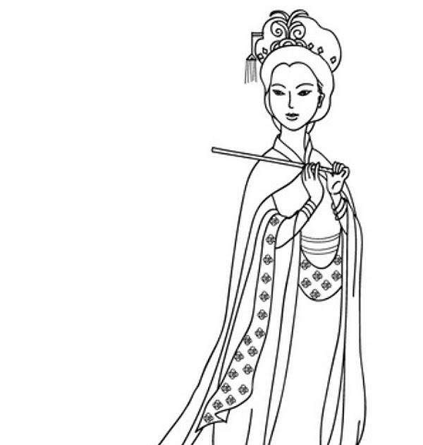 china coloring pages free | BARBIE COLORING PAGES: CHINESE / CHINA BARBIE COLORING PAGES