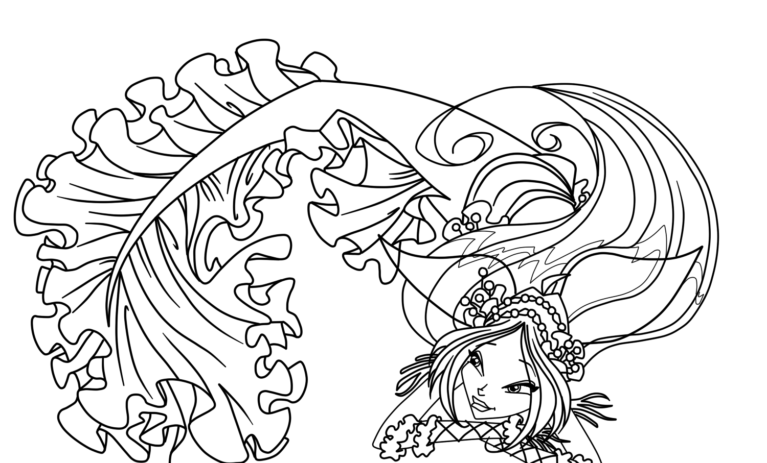Barbie Fairytopia Mermaidia Coloring Pages little einsteins ...