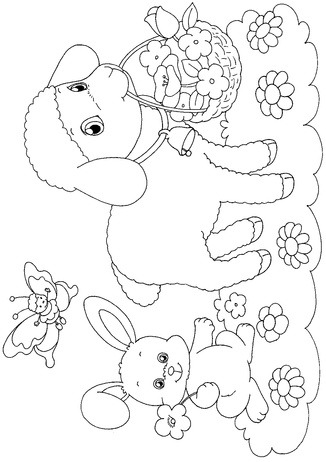 Sprint coloring pages ~ EASTER COLOURING: EASTER PAPER CRAFT TO PRINT AND COLOUR