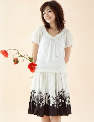 sung yu ri : korea idol model