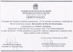 Certificado CPCI - SEC/RJ