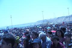 PEREGRINACION A PAITA 24 DE SETIEMBRE DEL 2007 MAS DE CIEN FELIGRESES DE PATAPO Y PUCALA ASISTIERON