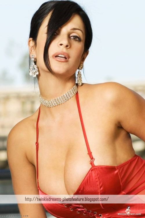 Dia Mirza Cute Wallpapers Twinkledreams Denise Milani Posing In Red Hot Photoshoot