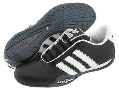 Goodyear Tire Co. collaborated with Adidas to create a racing shoe...