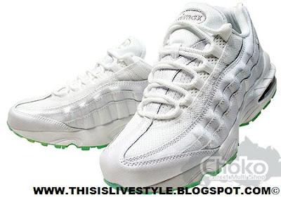 Helloooooo Ladies  The Nike Women s Air Max 95 White Mint Green   Wrigley s  Doublemint® Fresh For Summer Oh-9 Y.O.U. Suckaaaaaaaaaaaaaaas! 161f027aa