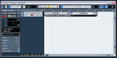 steinberg cubase, Reverse Reverb Effect, bit resolution, sampler, sample rate, project set up