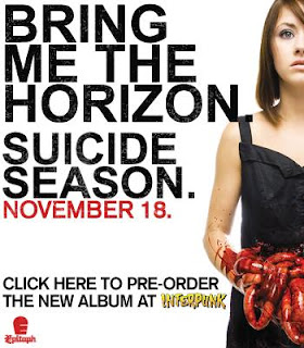 Matt Collins A2 Music Promo: BMTH suicide season ...