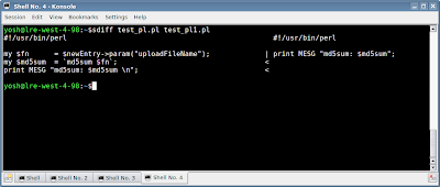 Visual Diff Tools in Linux   Core Dump