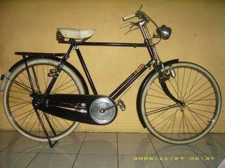 Ontel Bicycle modification sepeda ontel humber