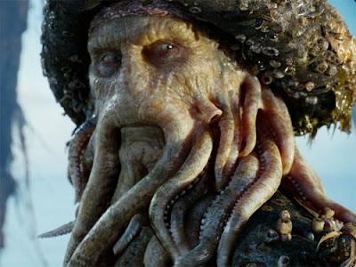 Escudella Urbana Davy Jones Ese Pirata Del Caribe