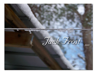 winter, jack Frost, ice, wire