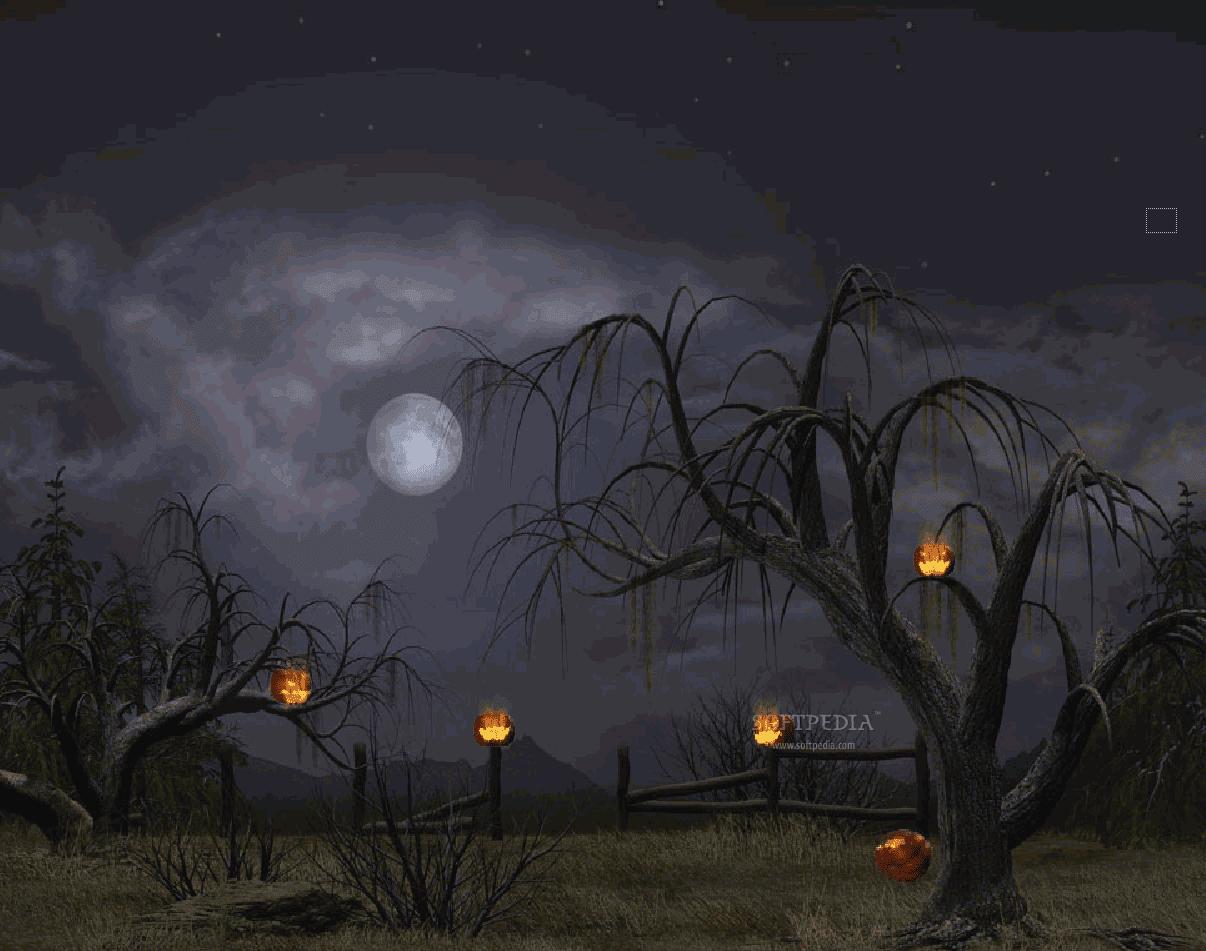 halloween moon wallpaper - photo #26