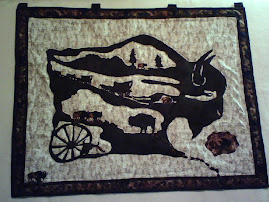 Bison wall hanging