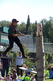 Logger at the fair