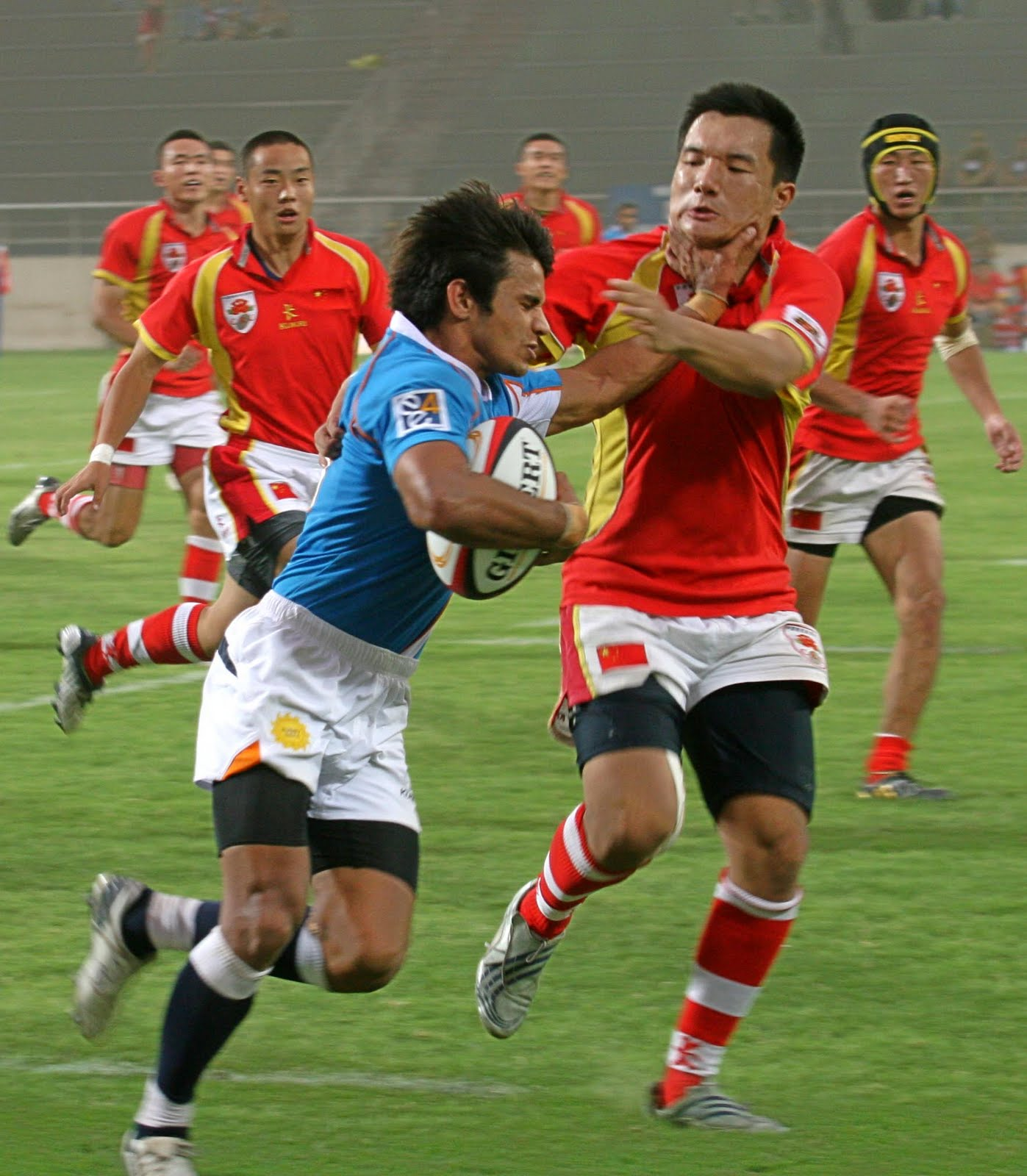 Delhi Commonwealth Games 2010: Asian Five Nation Rugby