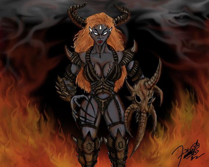 female demon wallpapers myspace - photo #6