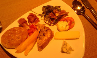 Italian buffet at Grappa Restaurant in Pattaya