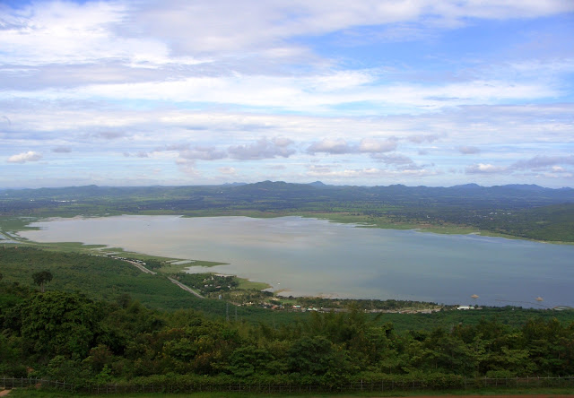 Lam Takhong lake in North-East Thailand