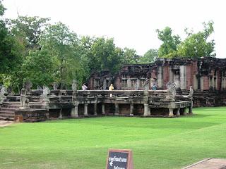 Prasat Hin Phi Mai in North-East Thailand