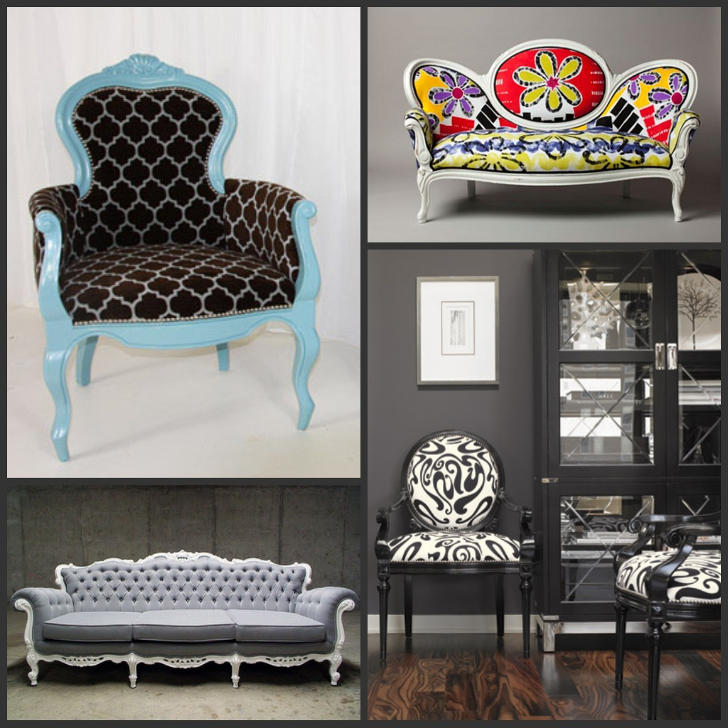 Stuff I Love: Modernizing Victorian Furniture