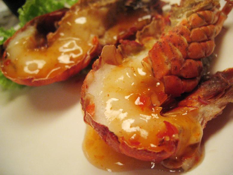 chilli slipper lobster