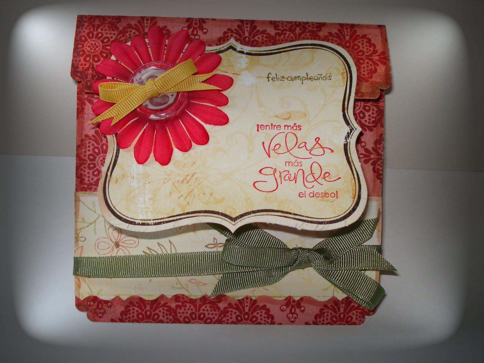 Tarjetas Hechas A Mano Postales Hechas A Mano Handmade Cards - Tarjetas-de-cumpleaos-a-mano