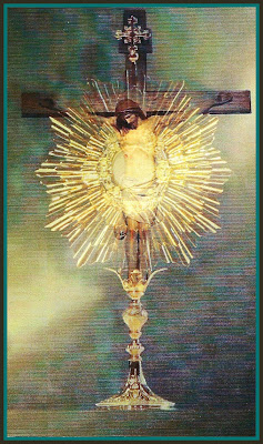 Holy Cards For Your Inspiration: Eucharistic Adoration ...
