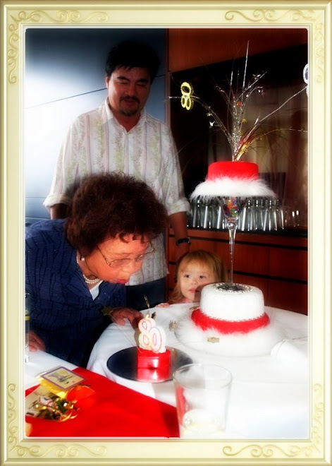 Toshi's 80th Birthday Cake