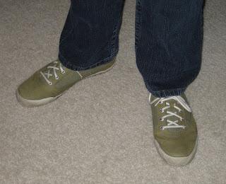 I love my squash shoes