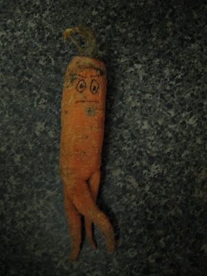 A carrot even Leo wouldn't want to eat?