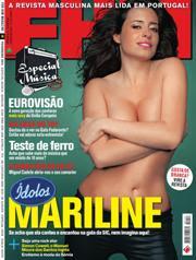 Mariline Revista FHM fevereiro 2010