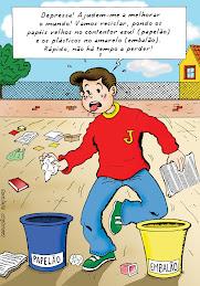 Faz como o Jonas: recicla!