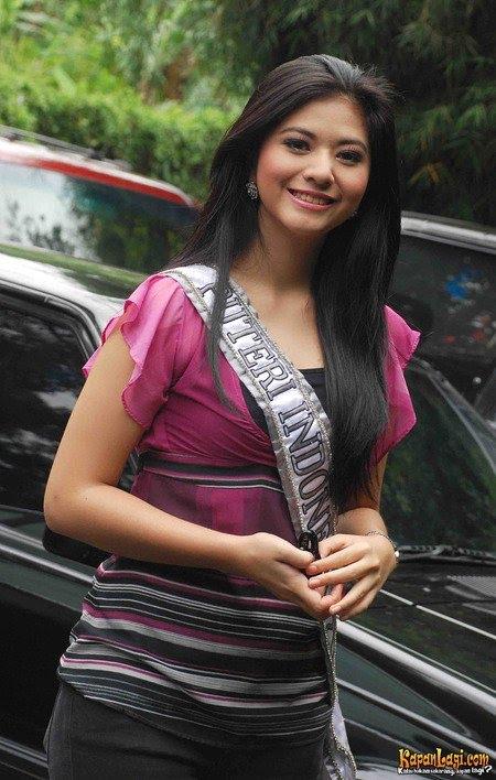 Miss Universe Indonesia 2010 Qory Sandioriva Jcelebfwd