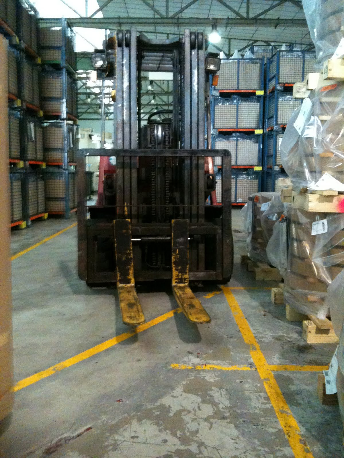 Ehs Singapore Unsafe Conditions Amp Acts Involving Forklift