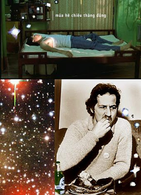 The vertical ray of the sun, Werner Herzog eats his shoe.