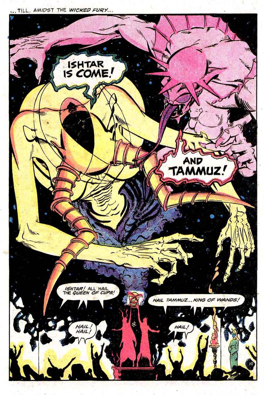 Madame Xanadu v1 #1 - Marshall Rogers 1970s dc horror comic book page art