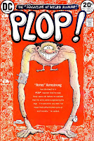 Plop v1 #1 dc bronze age comic book cover art by Basil Wolverton